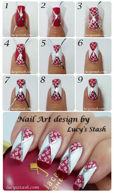 25 Great Nail Art Tutorials for Cute and Fancy Nails (19)
