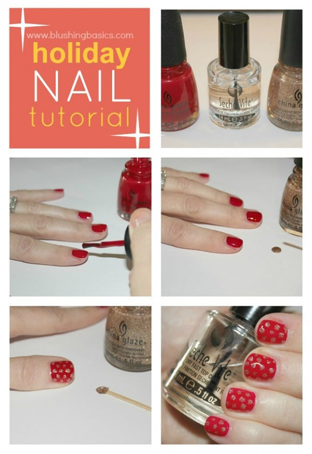 25 Great Nail Art Tutorials for Cute and Fancy Nails (2)