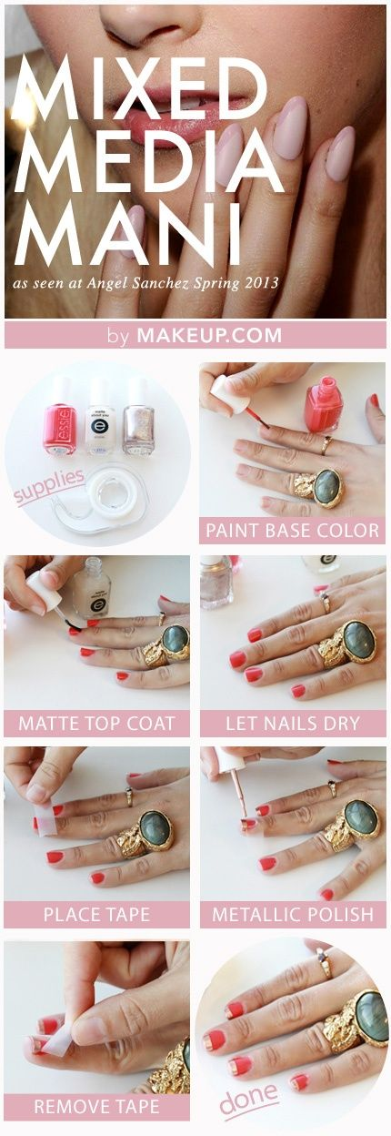 25 Great Nail Art Tutorials for Cute and Fancy Nails (21)
