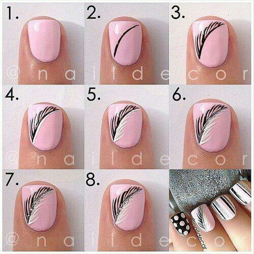 25 Great Nail Art Tutorials for Cute and Fancy Nails - 25 Great Nail Art Tutorials For Cute And Fancy Nails - Style Motivation