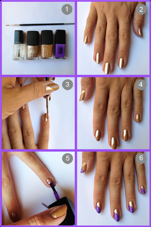 25 Great Nail Art Tutorials for Cute and Fancy Nails (24)