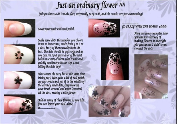 25 Great Nail Art Tutorials for Cute and Fancy Nails (4)