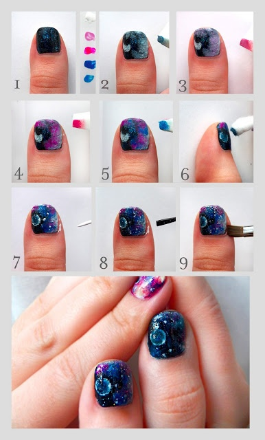 25 Great Nail Art Tutorials for Cute and Fancy Nails (8)