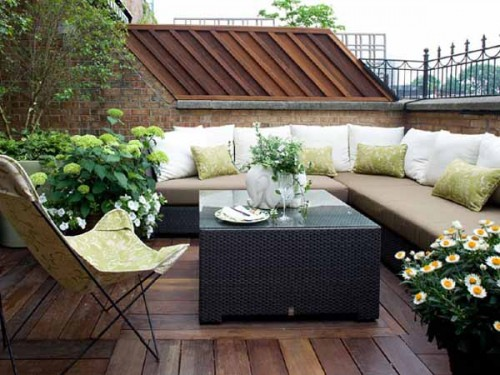 25 Modern Terrace Design Ideas