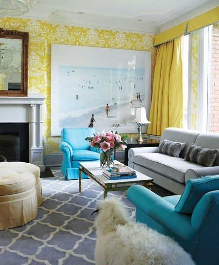 26 Amazing Ideas for Colorful Living Room (10)