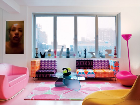 26 Amazing Ideas for Colorful Living Room (15)