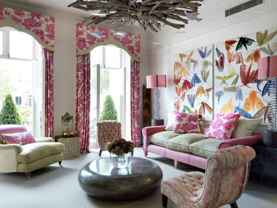 26 Amazing Ideas for Colorful Living Room (16)