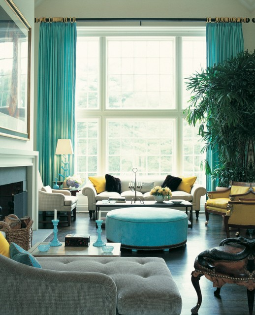 26 Amazing Ideas for Colorful Living Room (19)