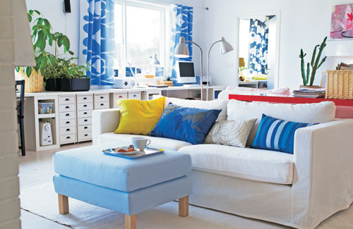 26 Amazing Ideas for Colorful Living Room (2)