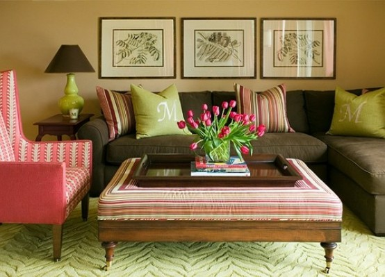 26 Amazing Ideas for Colorful Living Room (21)