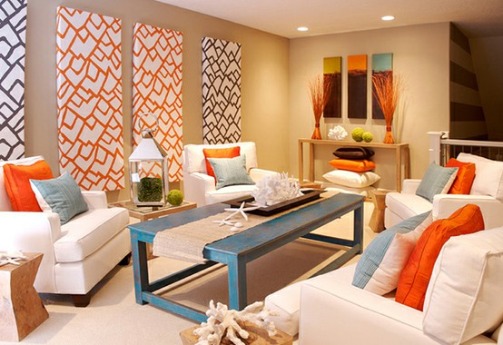26 Amazing Ideas for Colorful Living Room (22)