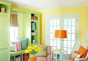 26 Amazing Ideas for Colorful Living Room - Living room, Colorful