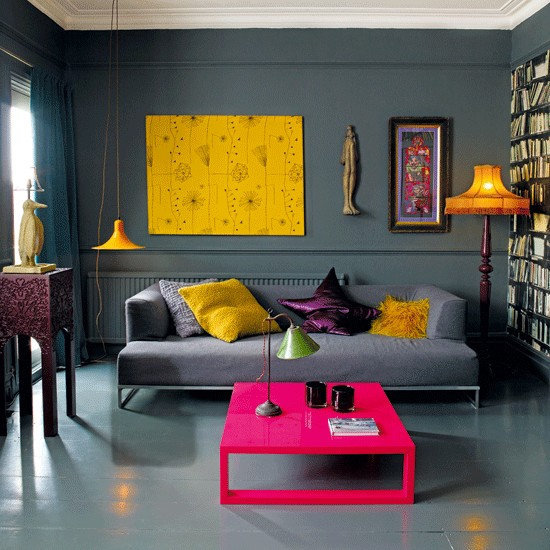 26 Amazing Ideas for Colorful Living Room (4)