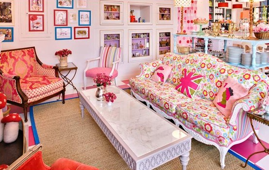 26 Amazing Ideas for Colorful Living Room (7)