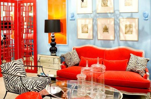 26 Amazing Ideas for Colorful Living Room (9)