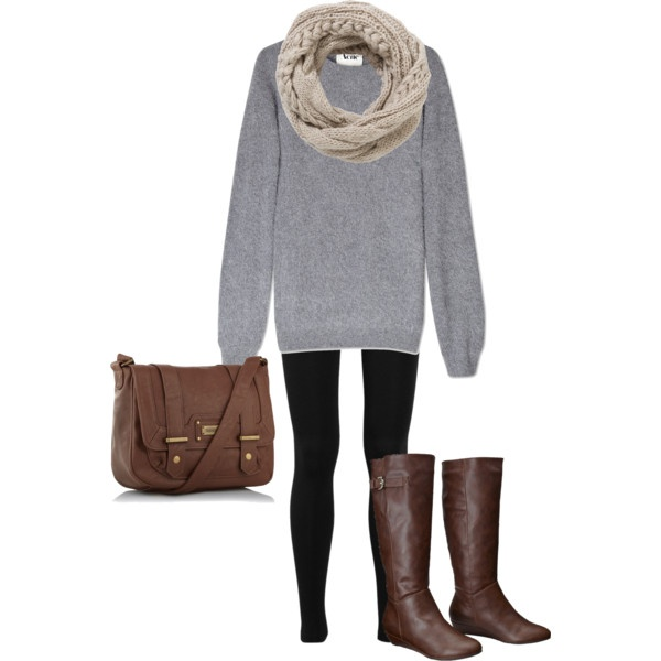 27 Casual and Cozy Combinations for Fall (11)
