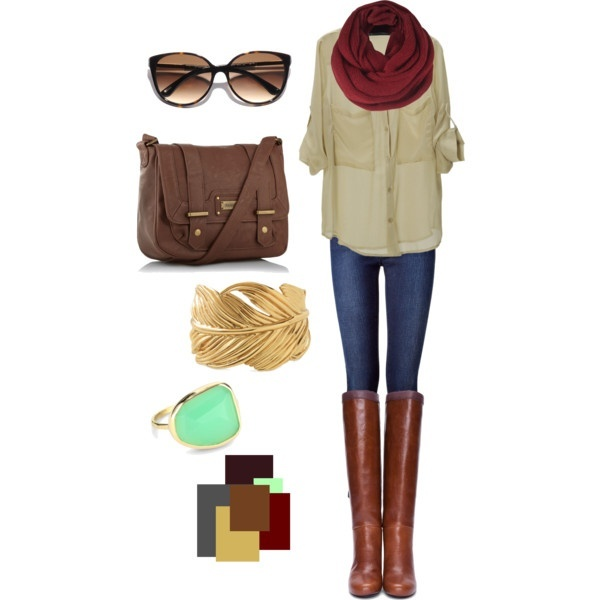 27 Casual and Cozy Combinations for Fall (2)