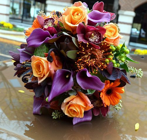 27 Romantic Fall Wedding Bouquets (1)