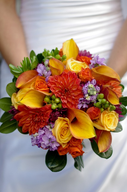 27 Romantic Fall Wedding Bouquets (10)
