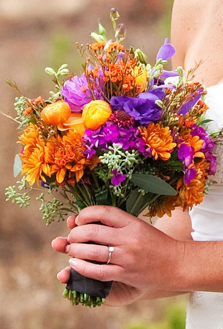 27 Romantic Fall Wedding Bouquets (2)