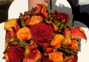 26 Romantic Fall Wedding Bouquets - Wedding Bouquets, romantic, Fall