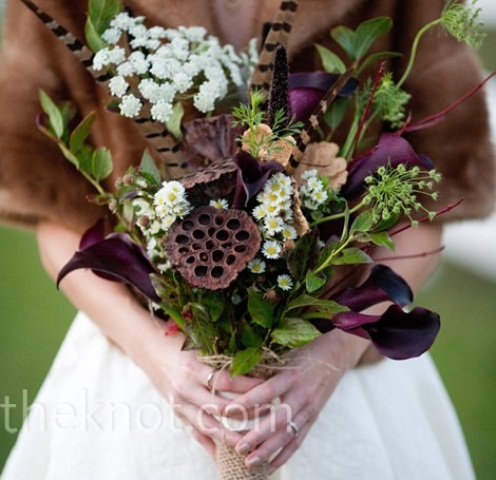 27 Romantic Fall Wedding Bouquets (26)