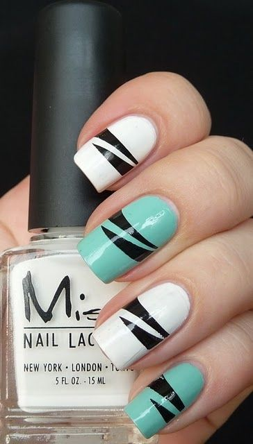 27 Simple and Cute Nail Art Ideas (11)