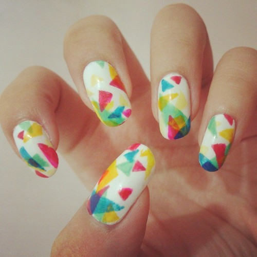 27 Simple and Cute Nail Art Ideas (25)