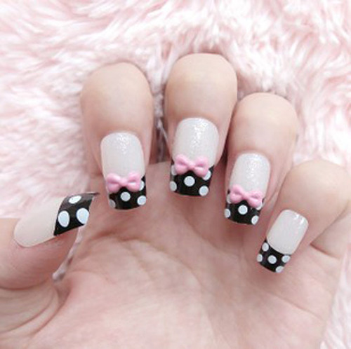 27 Simple and Cute Nail Art Ideas (26)