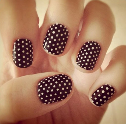 27 Simple and Cute Nail Art Ideas (27)