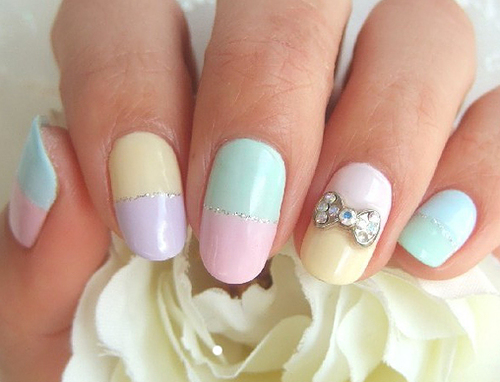 27 Simple and Cute Nail Art Ideas (6)