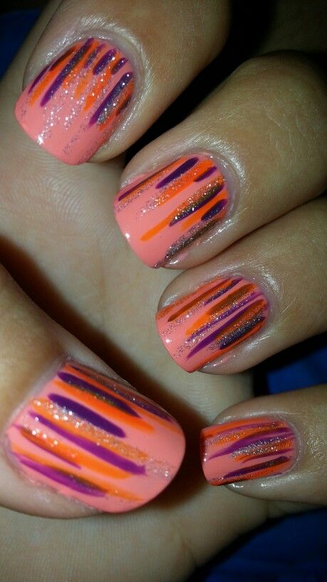 27 Simple and Cute Nail Art Ideas (9)