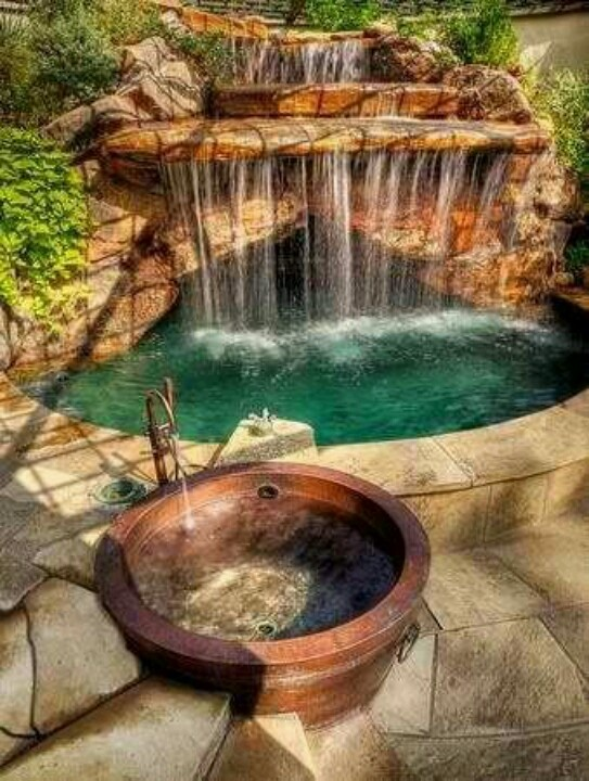 26 Amazing Garden Waterfall Ideas - Style Motivation on Waterfall Ideas For Garden id=50061