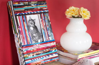 15 Cool DIY Ideas to Reuse Old Magazines