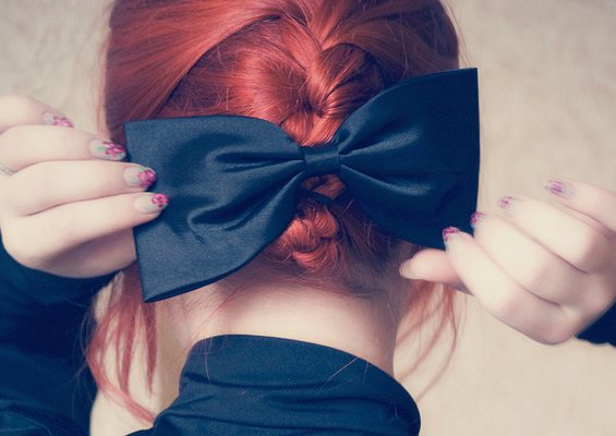 33 Adorable Hairstyles with Bows (17)