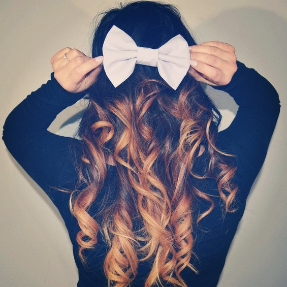 33 Adorable Hairstyles with Bows (18)