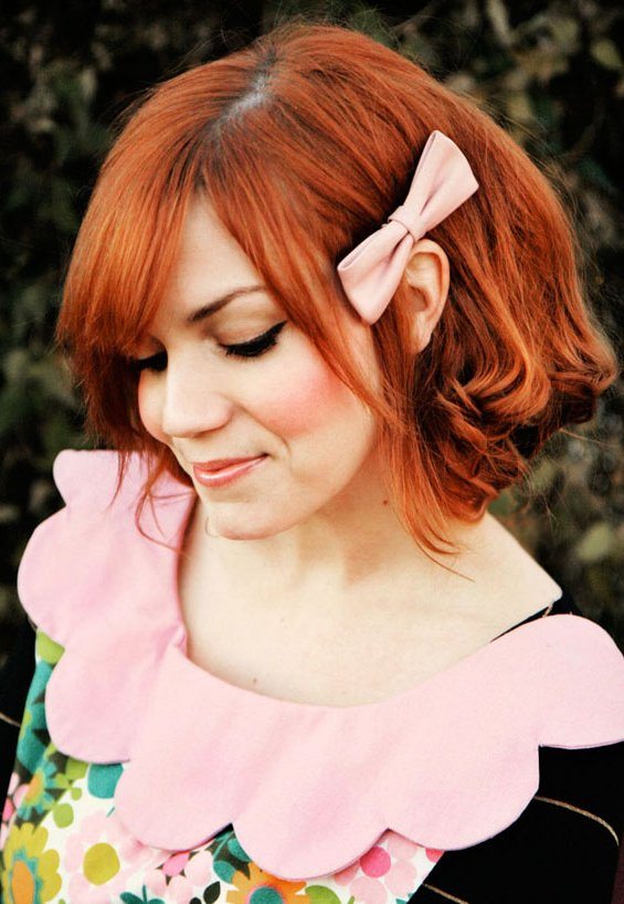 33 Adorable Hairstyles with Bows (27)