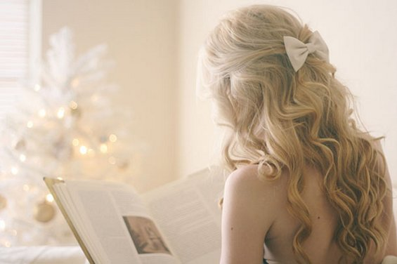33 Adorable Hairstyles with Bows (31)