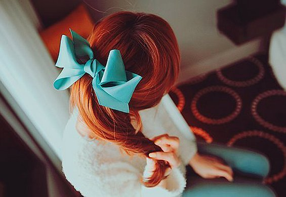 33 Adorable Hairstyles with Bows (5)