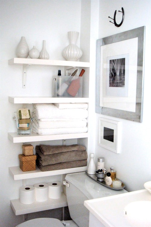 35 Great Storage and Organization Ideas for Small Bathrooms (8)
