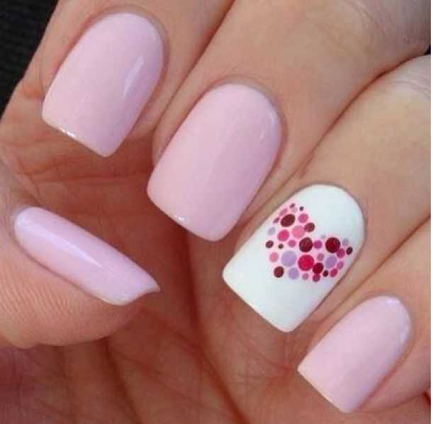 Stylish Pink Nail Art Ideas