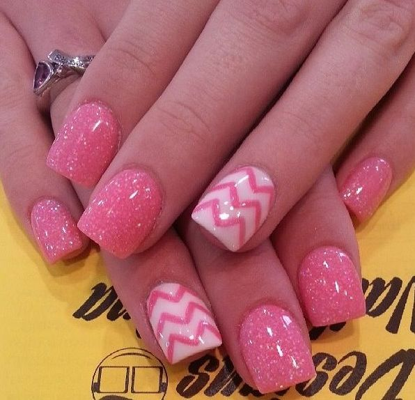 40 Stylish Pink Nail Art Ideas - 40 Stylish Pink Nail Art Ideas - Style Motivation