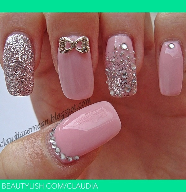 40 stylish pink nail art ideas style motivation 40 stylish pink nail art ideas prinsesfo Image collections
