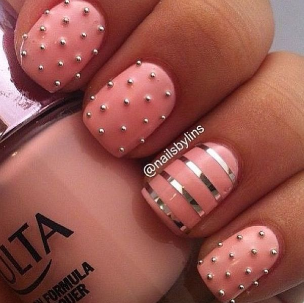 Pics Of Nail Art: 40 Stylish Pink Nail Art Ideas