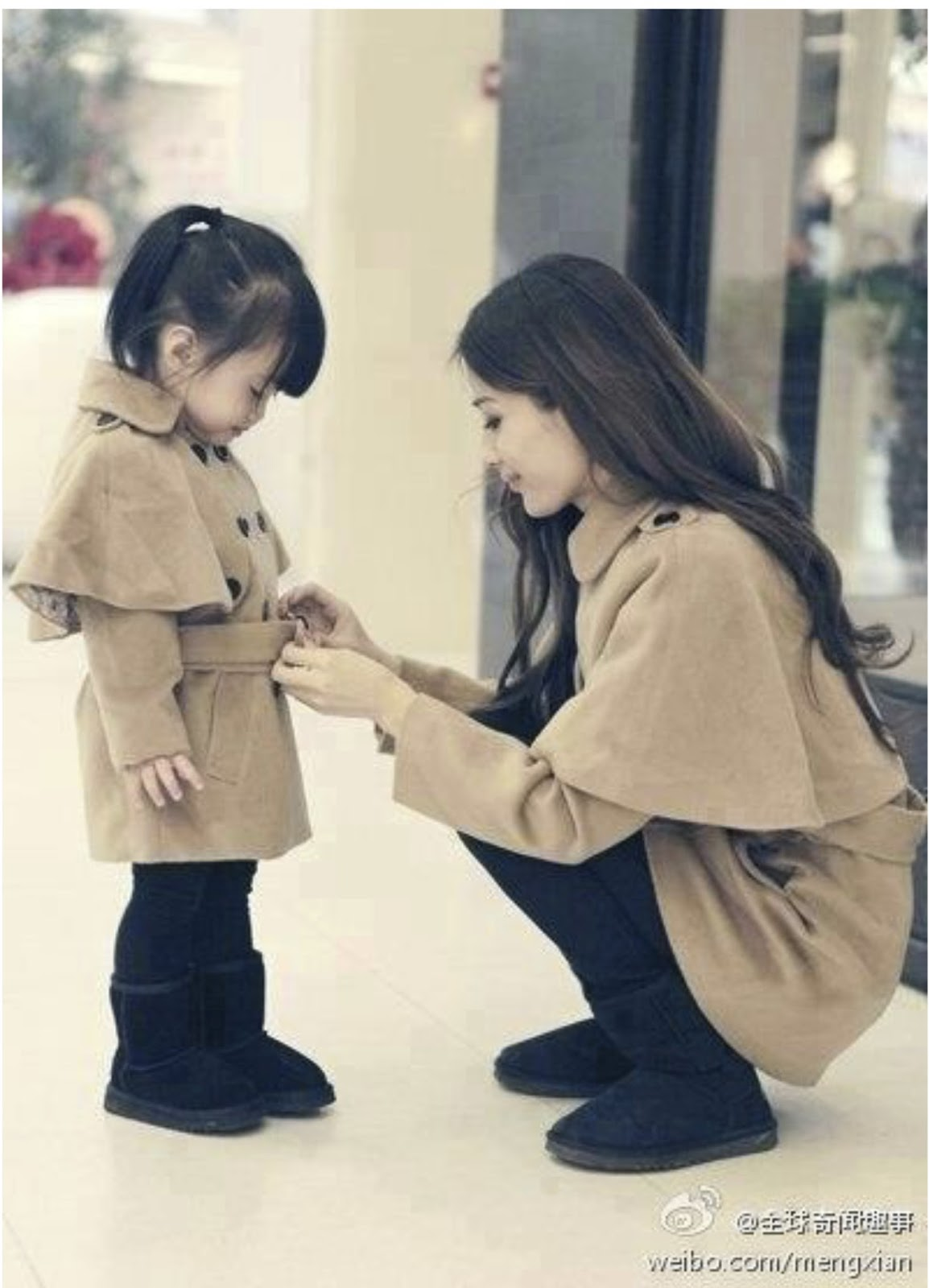 19 Stylish Fall Outfits Worth Copying: 19 Adorable Mothers And Daughters Matching Outfit Ideas