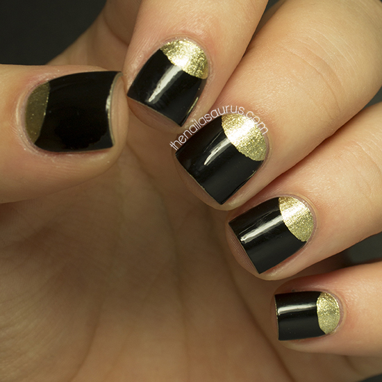 Golden Tones on Your Nails 24 Perfect Nail Art Ideas (13)