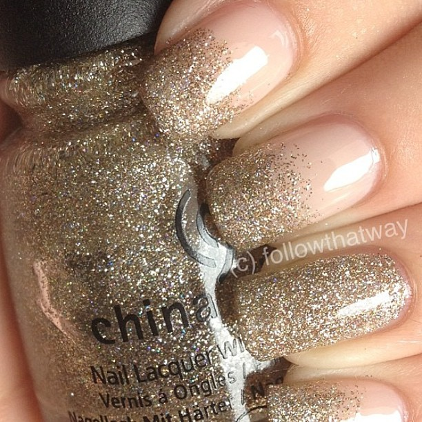 Golden Tones on Your Nails 24 Perfect Nail Art Ideas (6)