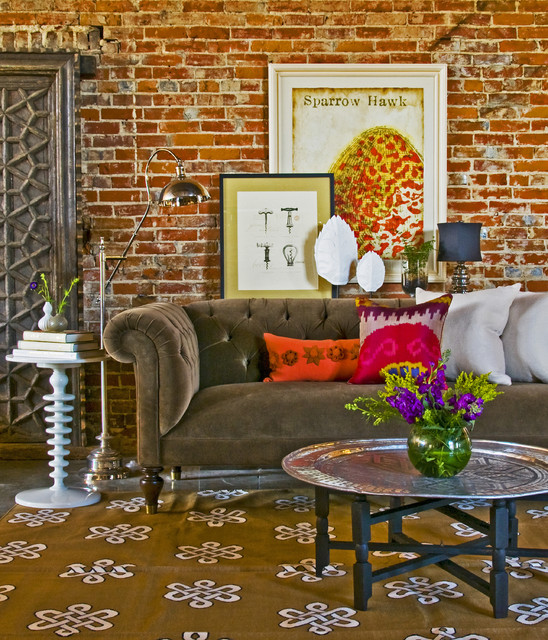 Gorgeous Living Room Design Ideas in Eclectic Style 1