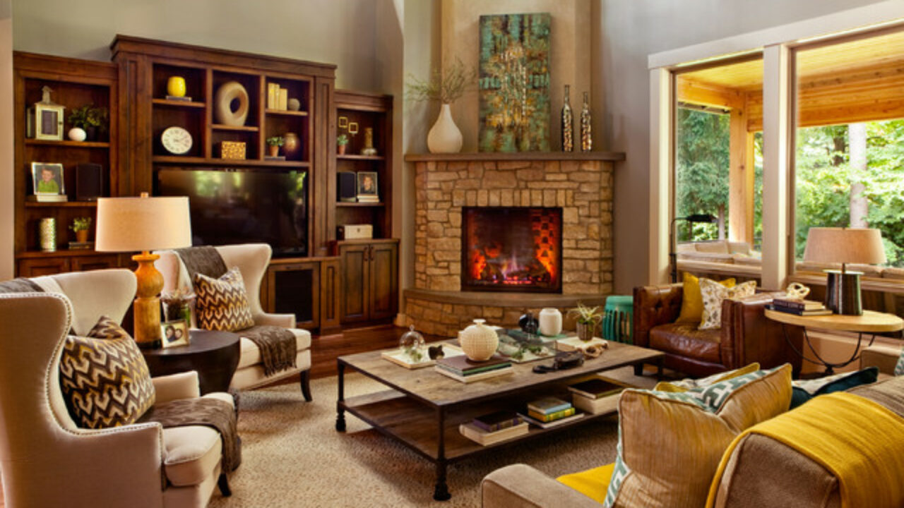 19 Gorgeous Living Room Design Ideas in Eclectic Style ...
