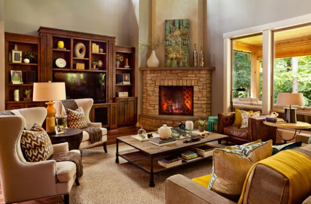 Gorgeous Living Room Design Ideas in Eclectic Style 2